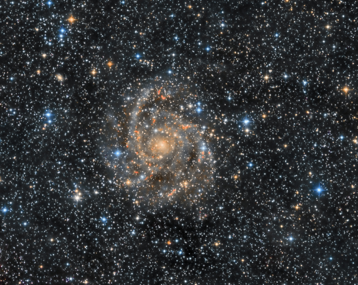 IC 342 - The Hidden Galaxy (HaLRGB)