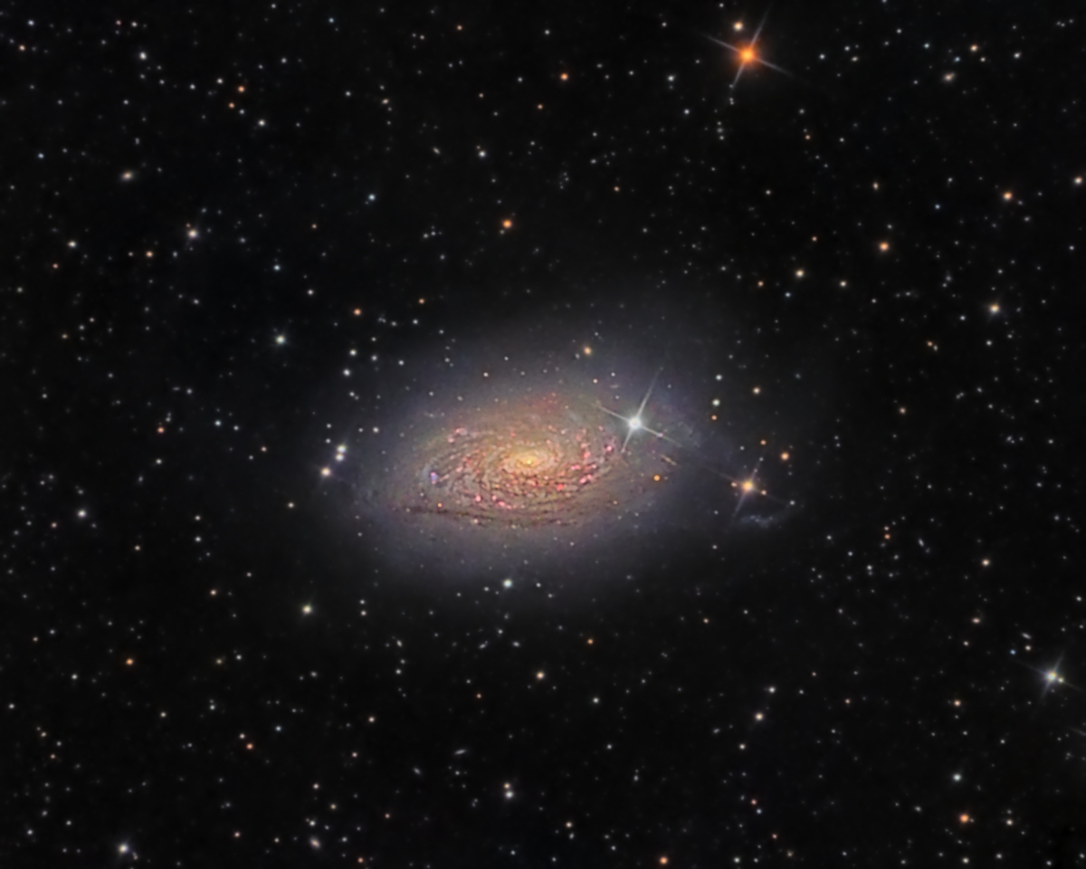 M63 - Sunflower Galaxy (HaLRGB)