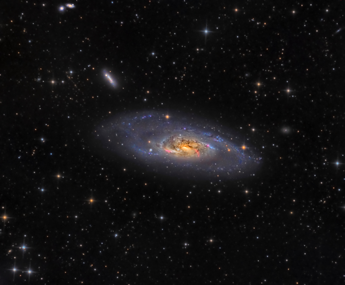 M106 - The Splendid Galaxy (HaLRGB)