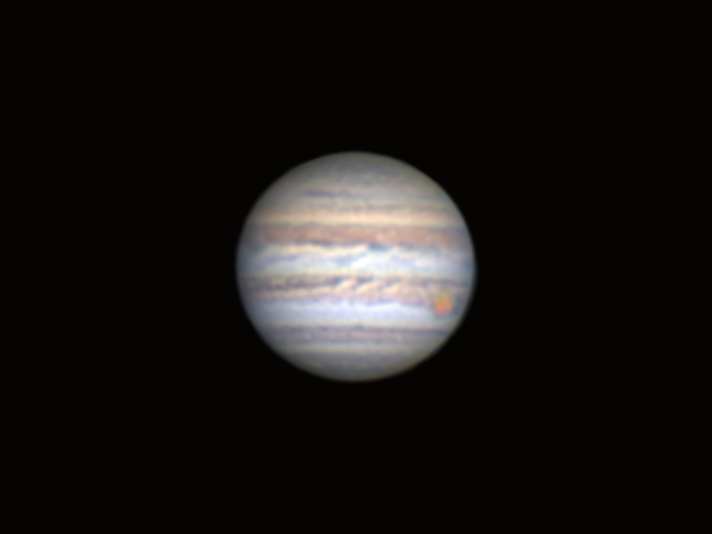 Jupiter with Great Red Spot (2017/06/10)
