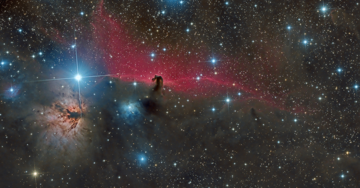 IC 434 - The Horsehead Nebula and Friends